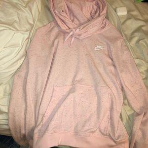 Xs light pink nike hoodie